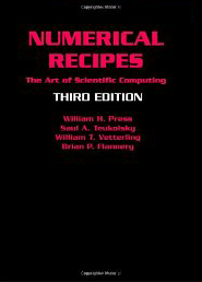 Numerical Recipes 3rd Edition: The Art of Scientific Computi