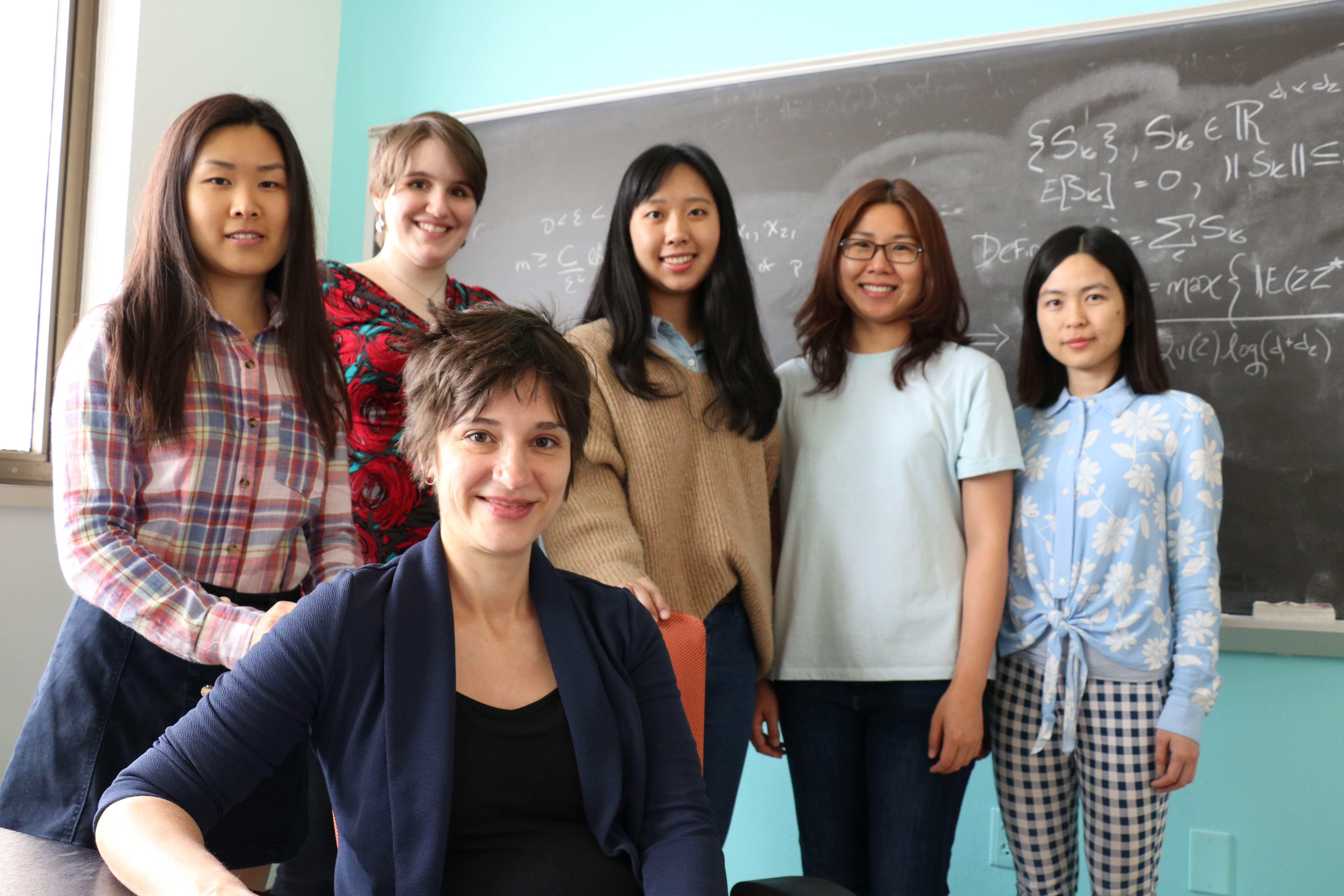 Professor Rachel Ward's research group
